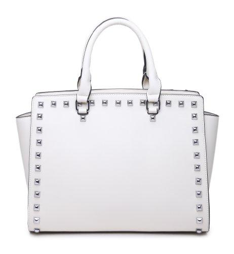 K664018L MyLux® Women/Girl Fashion Designer purse handbag (BEIGE664022), Bags Central