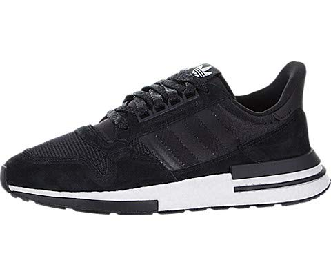 adidas ZX 500 RM Mens in Core Black/White, 10 (Shoes Adidas Zx)
