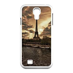 Samsung Galaxy S4 9500 Cell Phone Case White_Eiffel Tower View Twsml