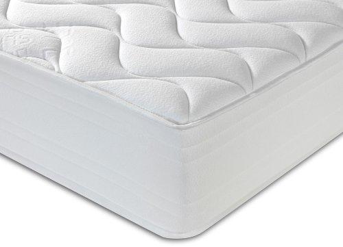 Breasley Flexcell Taschenfederkern-Matratze 1000 37°, King Size, 152 cm, weiß