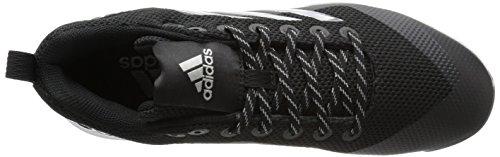 Adidas Mens Poweralley 5 Tpu Modellato Tacchetti Nucleo Nero, Argento Met., Ftwr Bianco