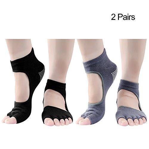Pairs Toeless Half Socks Women