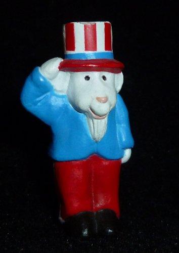 (Hallmark Merry Miniature Patriotic Uncle Sam Goat Figurine)