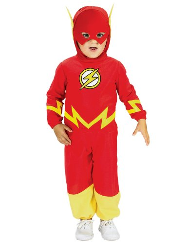 Justice League The Flash Romper Costume  , The Flash Print, 6-12 Months