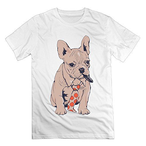 NOAC Men's French Bulldog Boss Art Graphic Short - Boss Goggles