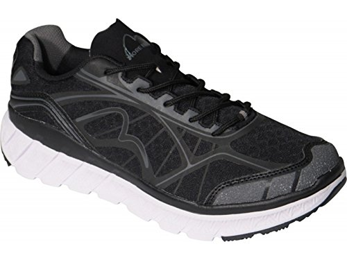 More Mile - Zapatillas de running para hombre negro negro Auditor Value