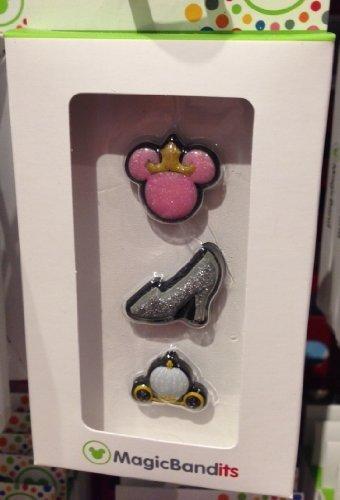 Disney Parks Princess Magic Band Bandits Set of 3 Charms NEW -