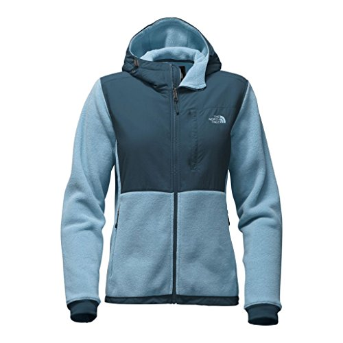 Denali Series (The North Face womens DENALI 2 HOODIE NF0A2TE3WNL_M - PROVINCIAL BLUE/INK BLUE)