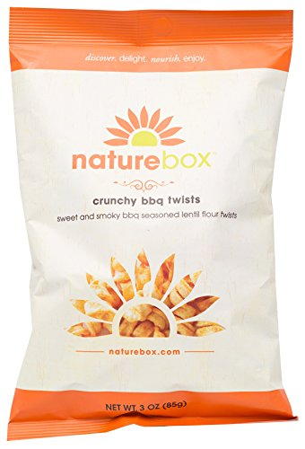 NatureBox Lentil Loops Non-GMO Veggie Twist Chips (4 bags X 3 oz)