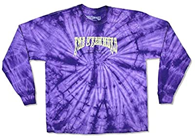 Rae Sremmurd Dazed Blazed 2018 Tour Purple Tie Dye Long Sleeve Shirt