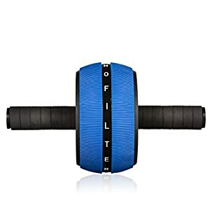 #nofilter Sport - Training and Fitness Ab Roller Wheel for Home and Gym with Knee Pad and Anti-Slip Handles for Men Women Gymnastics Home Gym Equipment + Ideal Gift Idea