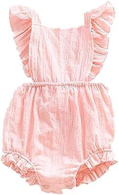 US STOCK Baby Girls Bodysuit Romper Jumpsuit Sunsuit Outfit Clothes Set Lots