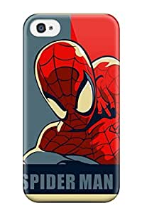Carroll Boock Joany's Shop Hot Tpu Cover Case For Iphone/ 4/4s Case Cover Skin - Spider-man 3757729K80779176