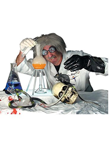 Lab Rats Costumes (Mad Scientist Lab Kit Halloween Haunted House Prop)