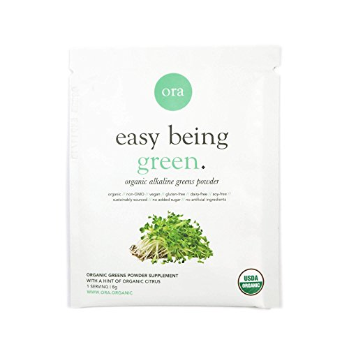 Easy Being Green: Greens Powder - Citrus 8g (3 Pack Sample)