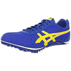 ASICS Men's Fast Lap MD Running Shoe,Royal/Aspen Gold/White,12 M US