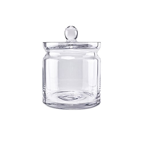 glass apothecary jars small - 8