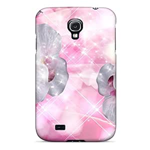 WUEOfDI8043bBmWq Case Cover, Fashionable Galaxy S4 Case - Orchids To Keep