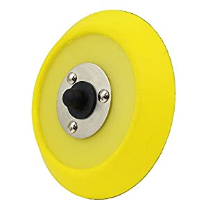 Chemical Guys BUFLC_BP_DA_5 Dual-Action Hook and Loop Molded Urethane Flexible Backing Plate ( 5 Inch)