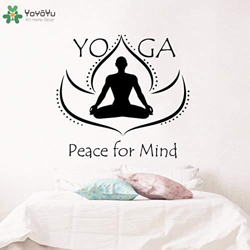 wukongsun Etiqueta de la Ventana Vinilo Pared Arte Yoga Loto ...
