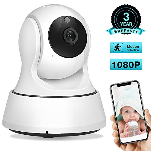 Great Deal! AIMECOR Baby Monitor, WiFi Camera, Pet Camera 1080P, 2.4G Wireless IP Camera, Home Secur...