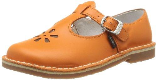 Aster Kids Girl's Dingo (Toddler/Little Kid) Orange Leather Flat 33 (US 1 Little Kid) M ()