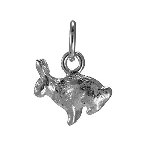Sterling Silver Bunny Rabbit Charm - 3