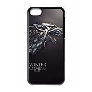 Customized Hard Back Phone Case for Iphone 5C Cover Case - Game of Thrones HX-MI-092283