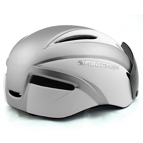 Basecamp Zoom Cycling Bike Helmets with Removable Shield Visor