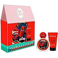 Marvel Spiderman Giftset For Kids, Perfume Eau de Toilette, 50 ml + Shower Gel, 50 ml