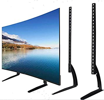 Soporte Televisión Sobre Mueble TV, Patas con Altura Adjustable para LCD Let TV Plana de 32 a 60