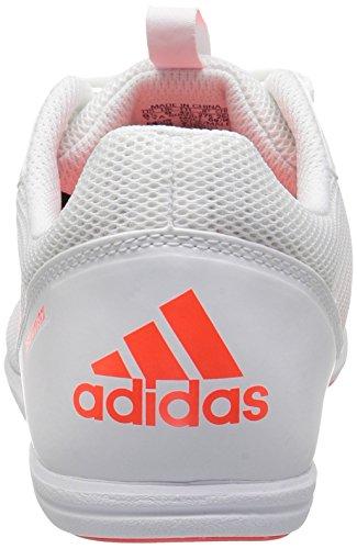 Adidas Heren Distancestar Trackschoen Wit / Infrarood / Infrarood