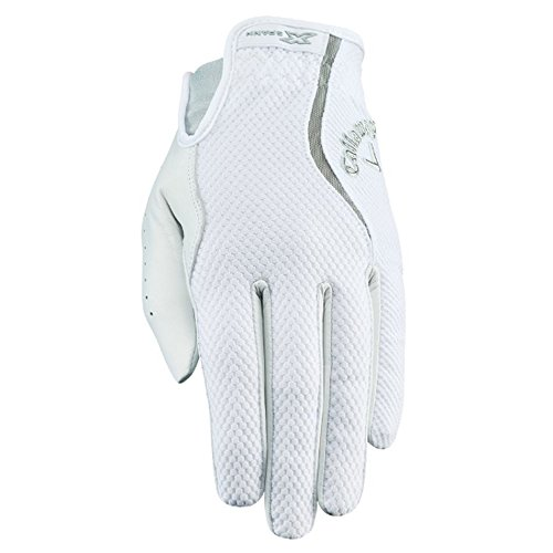 Callaway Women's X Spann Golf Gloves, Small, Right Hand (Center Hand Right)