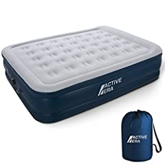 Overview:  This Premium Queen Size Air Bed from Active Era is made with an ultra-high quality, hard-wearing puncture resistant-material. A powerful and easy-to-use electric pump is integrated into the blow up bed to allow full inflation in ju...