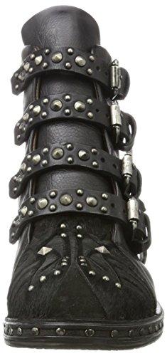 A.S.98 Women's Studs Biker Boots NERO-NERO-NERO 95zAA