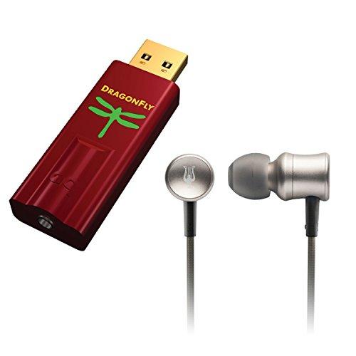AudioQuest/Meze Bundle - DragonFly Red USB DAC/Headphone Amplifier and 11 NEO Iridium Premium High Fidelity Aluminum IEM Earphones Bundle by FatWyre