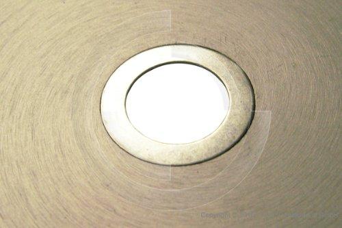 25,4mm Adapterringe Reduzierringe f/ür Kreiss/ägebl/ätter Diamantscheiben 25,4x20mm