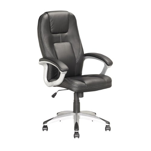 UPC 776069997093, CorLiving LOF-808-O Executive Office Chair, Black Leatherette