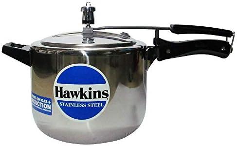 طنجرة ضغط بي 30 من هاوكنز، سعة 5 لتر, فولاذ مقاوم للصدأ, فضي, 5 Liter
