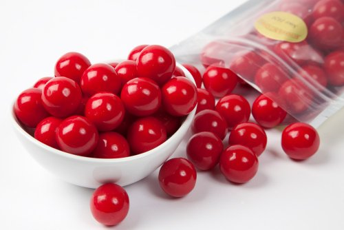 - Red Gourmet Gumballs (1 Pound Bag)