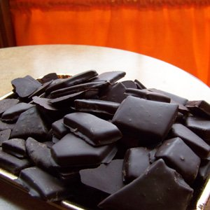 Toffee Covered in Dark Chocolate in a One Pound Gift Box