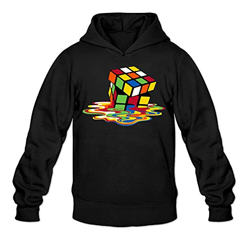 Rubiks Cube Melring Cube Mens Black Sportswear