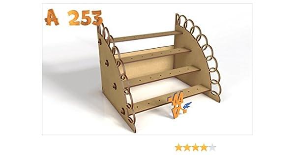 Kit para hacer tribuna porta chupetines / chupachups de madera DM ...