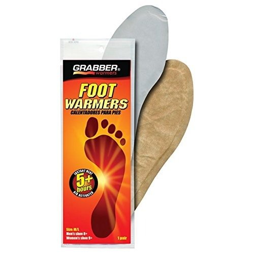 Grabber Foot Warmer Insole, (Disposable Foot Warmers)