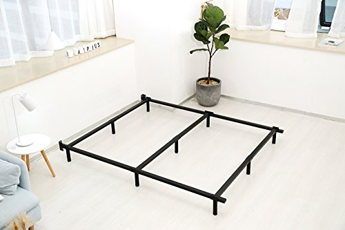Noah Megatron 7 Inch Heavy Duty Metal Bed Frame for King Box Spring by Noah Megatron