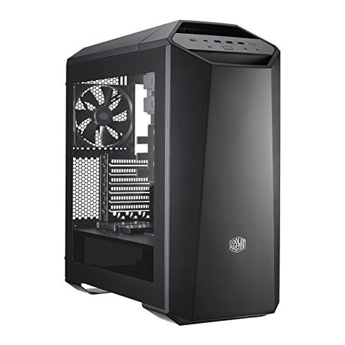 chollos oferta descuentos barato Cooler Master MasterCase Maker 5 Midi Tower Negro Caja de Ordenador Midi Tower PC Negro ATX Micro ATX Mini ITX Rojo 19 cm