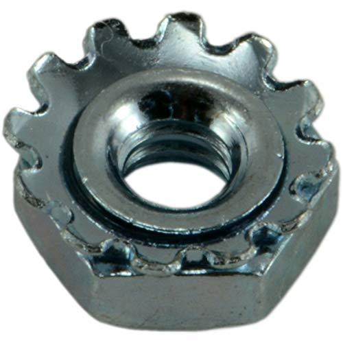 Hard-to-Find Fastener 014973268367 Coarse Kep Lock Nuts, 4-40, Piece-100