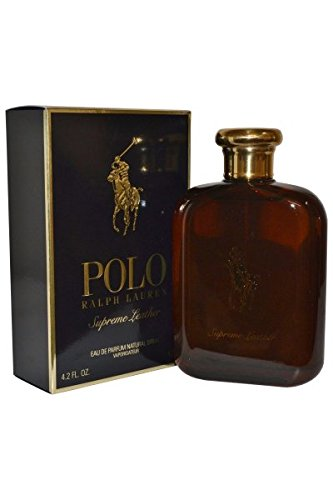 Ralph Lauren Polo Supreme Leather Eau de Parfum Spray for Men, 4 Ounce