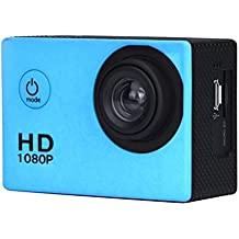 Sports Action Camera Emubody 1080P HD Waterproof Sports Recorder Bundle with 1.5 inch Ultra HD screen