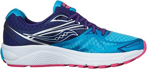 Navy Ride Saucony Women's W Shoe 9 Purple Pink Running US Blue 118x5q